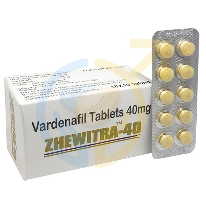AllDayPlus, Zhewitra 40, Zhewitra 40 mg, Zhewitra, Vardenafil Tablets
