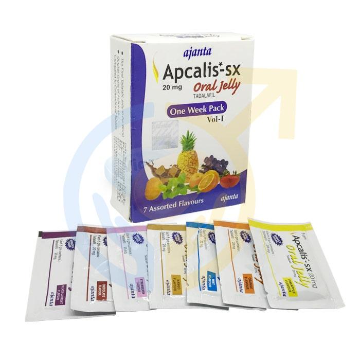 Apcalis oral Jelly 20mg   Tadalafil Oral Jelly