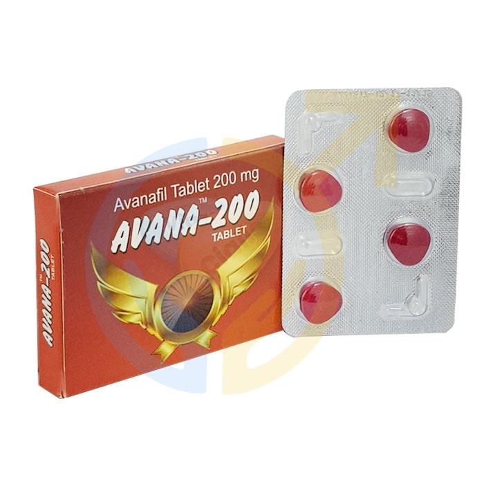 Avana 200 mg, Avana 200