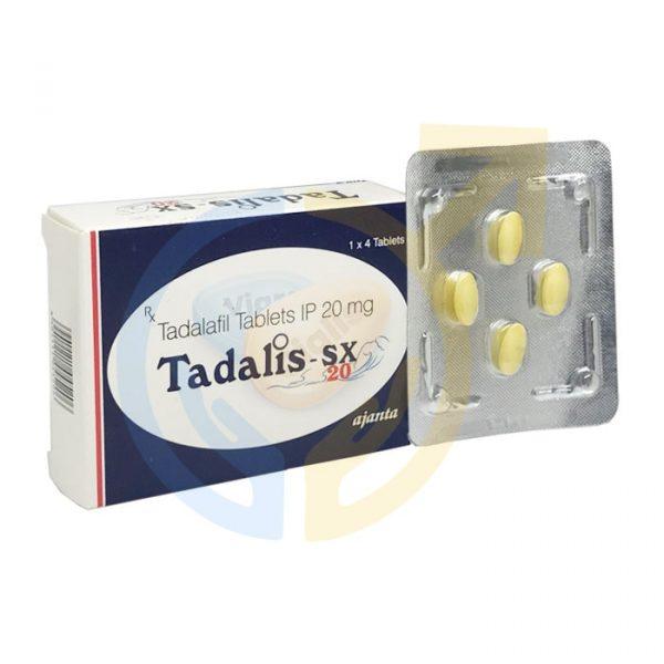 Tadalis SX 20 mg | Tadalafil 20 mg ED Pill
