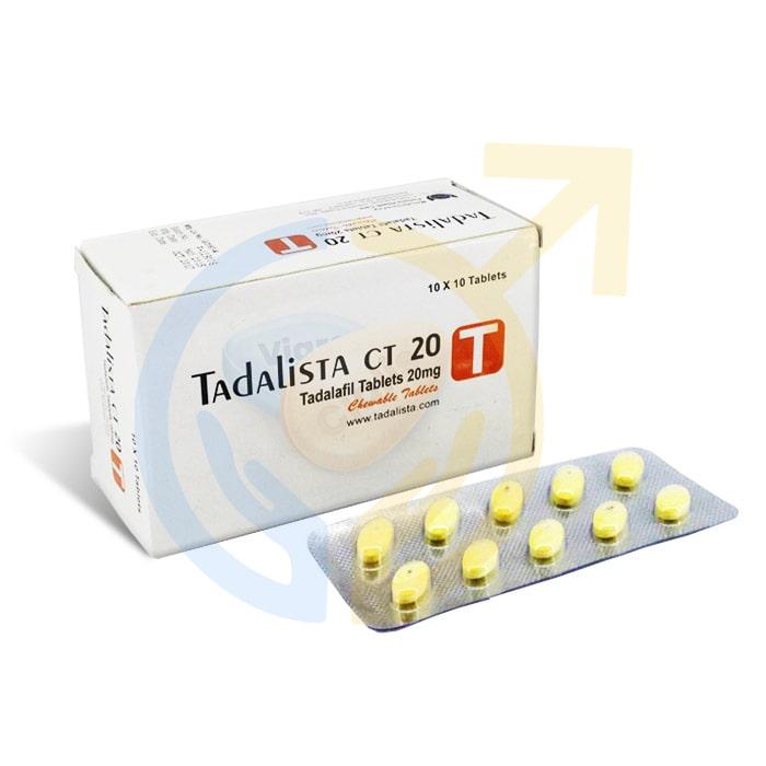 Tadalista CT | Tadalafil 20mg