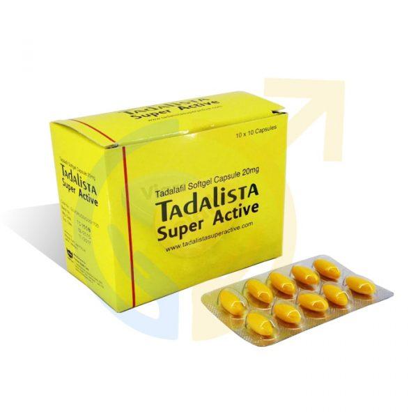 Tadalista Super Active | Tadalafil Soft Capsules
