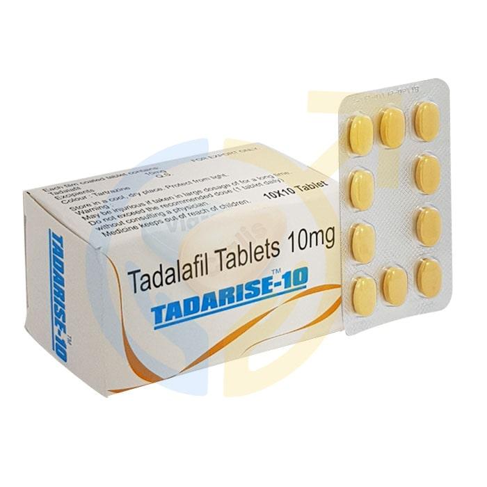 Tadarise 10 mg Tablet | ED pills