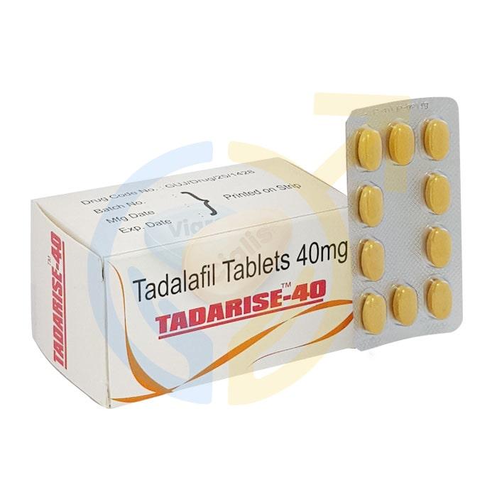 Tadarise 40 mg | Erectile Dysfunction Pills