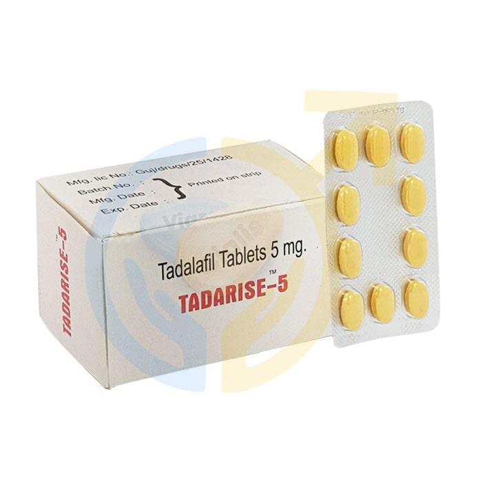 Tadarise 5   Best ED pill   Tadalafil 5 mg