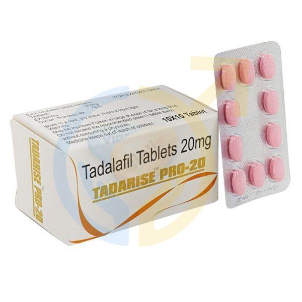 Tadarise pro 20 | Tadalafil 20mg | Best Pills For ED