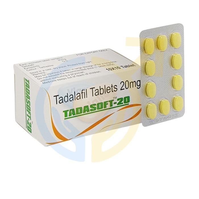 Tadasoft 20mg | Tadalafil Chewable Tablets