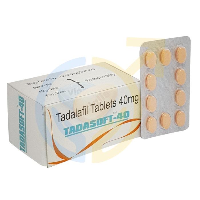 Tadasoft 40 mg | Tadalafil Chewable tablets