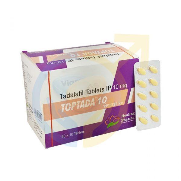 Toptada 10 mg | Erectile dysfunction 10mg pill
