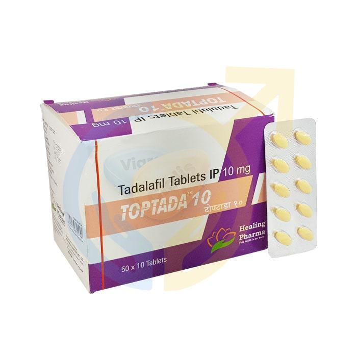 Toptada 10 mg   Erectile dysfunction 10mg pill