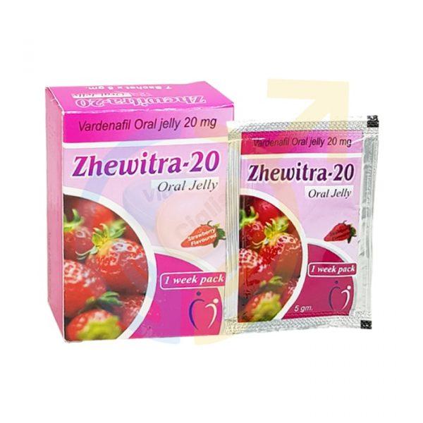 alldayplus, Zhewitra Oral Jelly 20mg, Zhewitra jelly