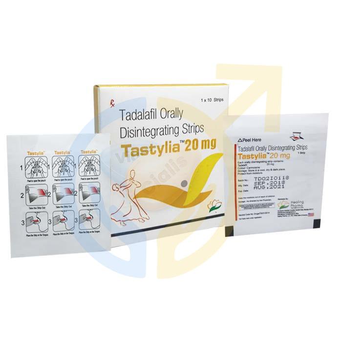 Tastylia 20 mg | Tadalafil 20 mg | ED pill