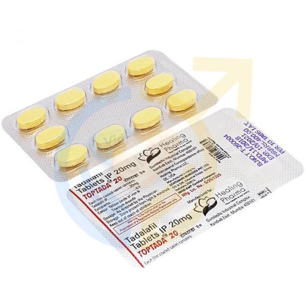 Toptada 20 mg | ED pill