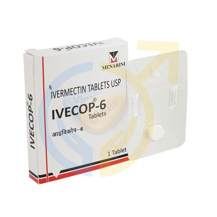 Ivecop 6 mg Tablet