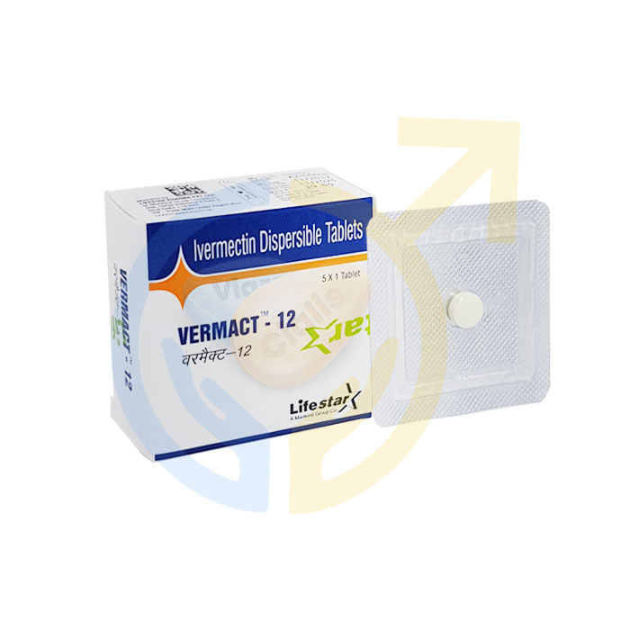Vermact 12 mg Tablet